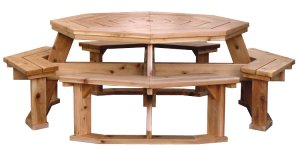 Octagon Picnic Table Designs
