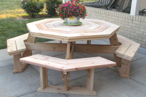 Free Octagon Picnic Table Plans