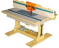 Free Home Shop Router Table Plan
