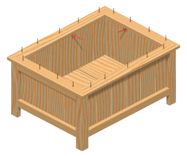 wooden planter box plans free | Quick Woodworking Ideas