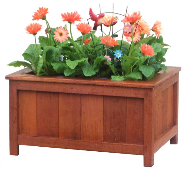 plans for wood flower box