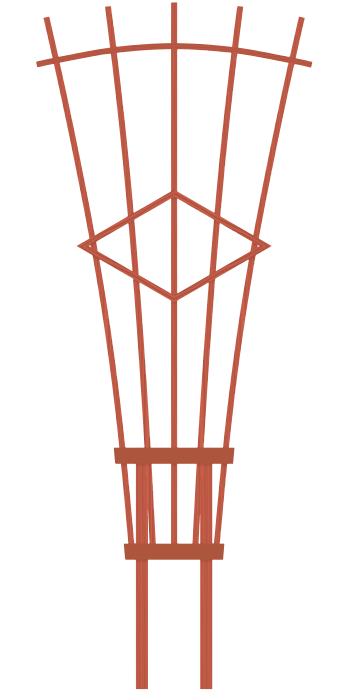 Trellis plans for garden plansdownload for Wooden garden trellis designs