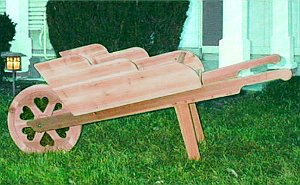 How To Build A Wooden Wheelbarrow